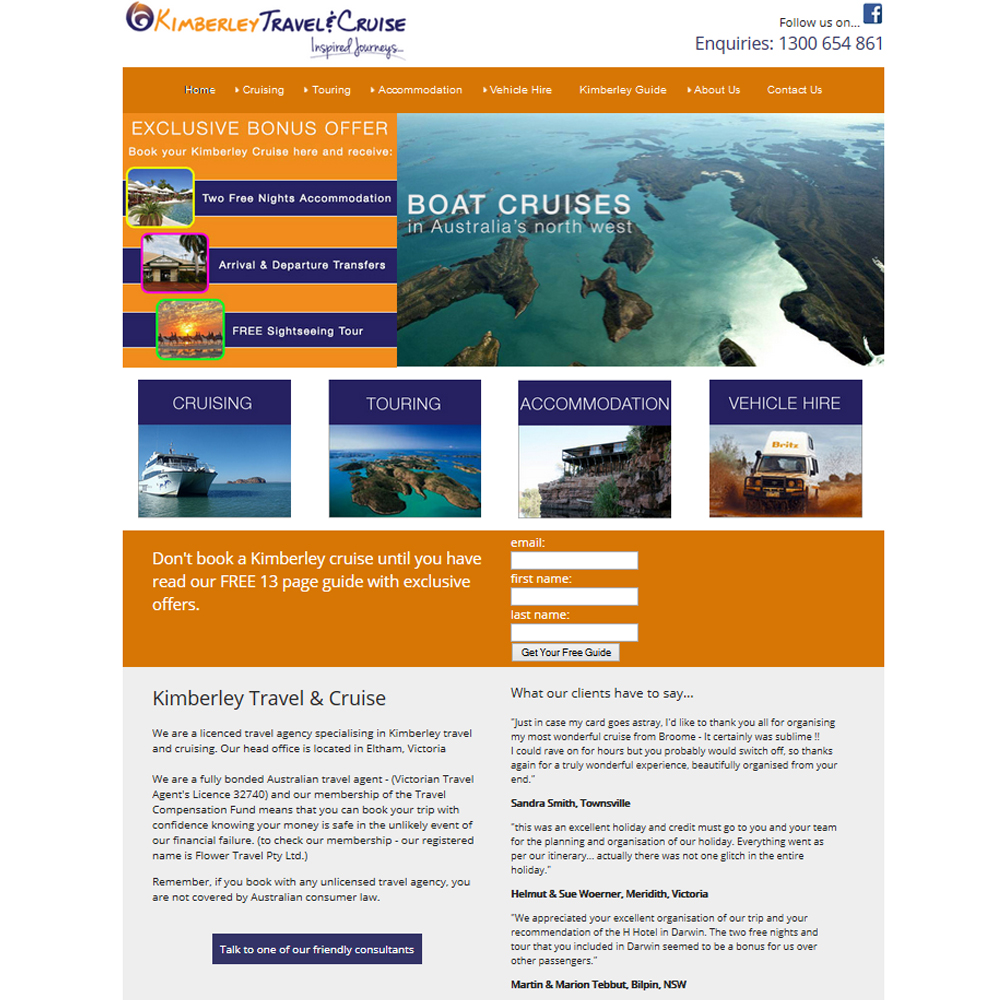 Kimberley Travel & Cruise