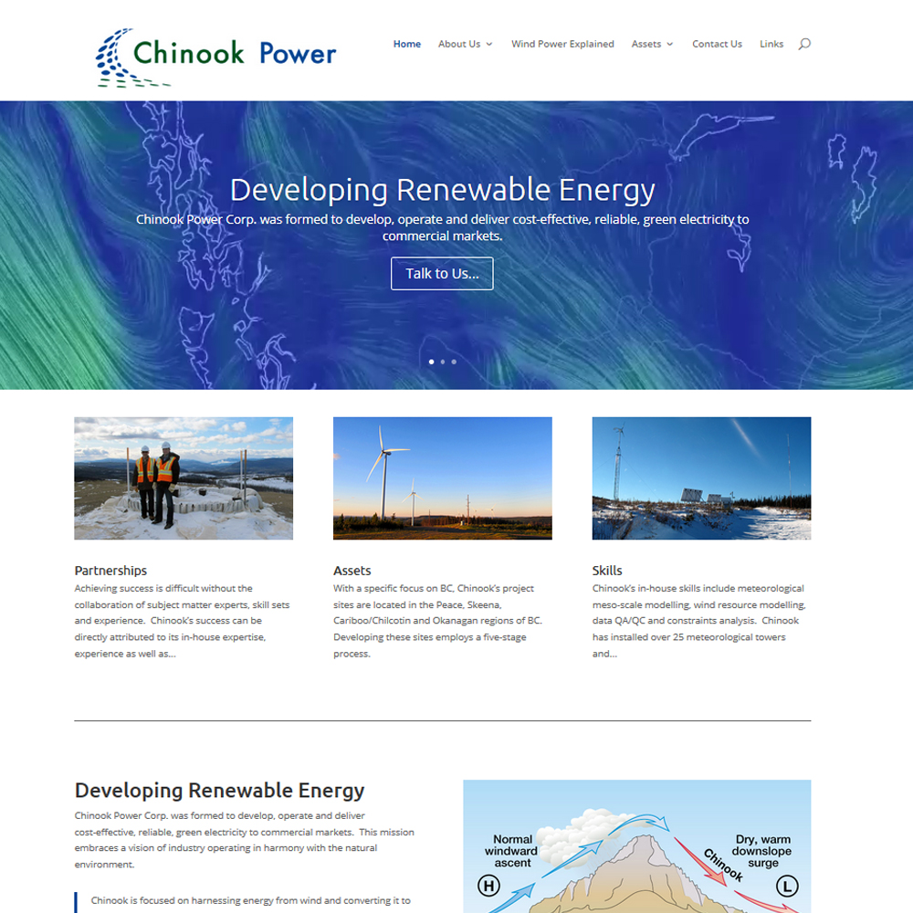 Chinook Power Corp